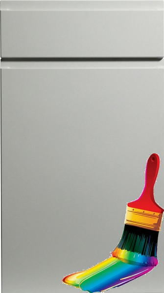 Knebworth Paintable Vinyl Kitchen Doors