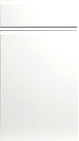Knebworth Super White Ash Kitchen Doors