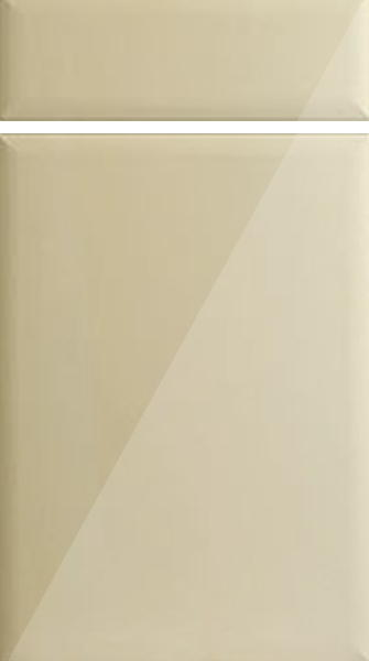 Lincoln High Gloss Cream Kitchen Doors