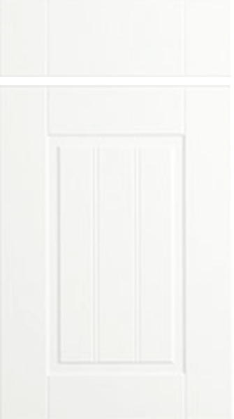 Newport Satin White Kitchen Doors