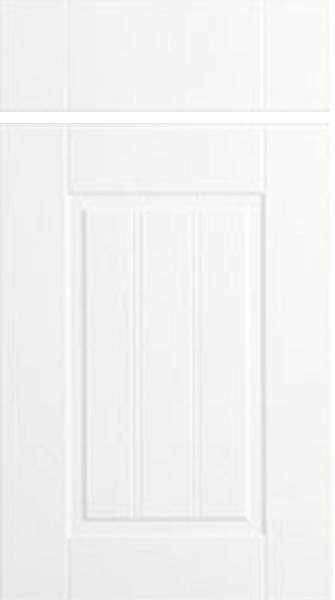Newport Super White Ash Kitchen Doors
