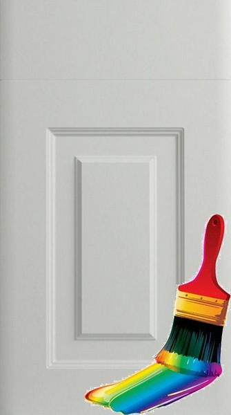Oxford Paintable Vinyl Kitchen Doors