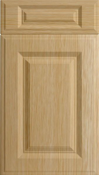 Palermo Natural Oak Kitchen Doors