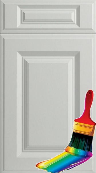 Palermo Paintable Vinyl Kitchen Doors