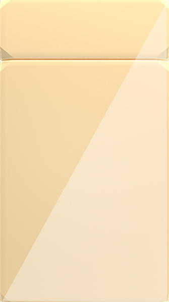 Rimini High Gloss Cream Kitchen Doors
