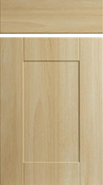 Shaker Canadian Maple Kitchen Doors Made To Measure From