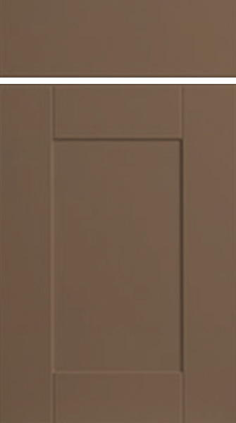 Shaker Matt Stone Grey Kitchen Doors