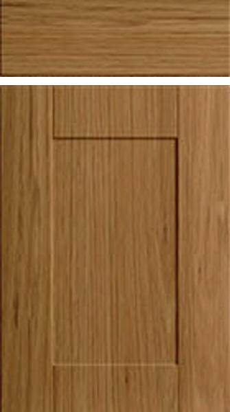 Shaker Pippy Oak Kitchen Doors