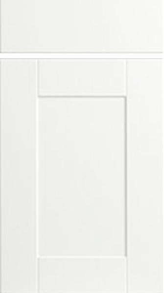 Shaker Satin White Kitchen Doors Made To Measure From 163 3 29
