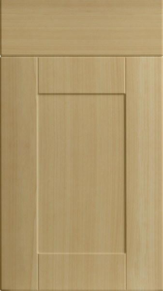 Pearwood Shaker Kitchen Doors