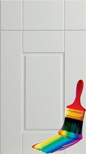 Surrey Paintable Vinyl Kitchen Doors