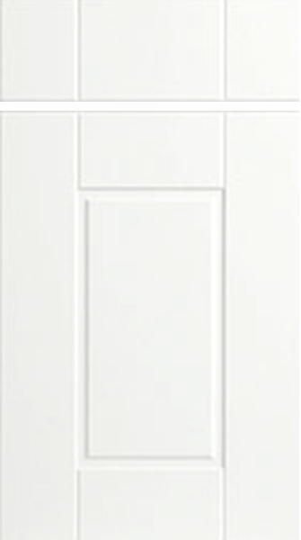 Surrey Satin White Kitchen Doors