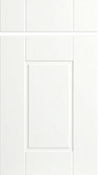 Surrey Super White Ash Kitchen Doors