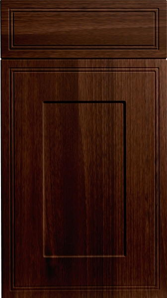 Tullymore dark walnut kitchen doors from made to for Kitchen doors and more