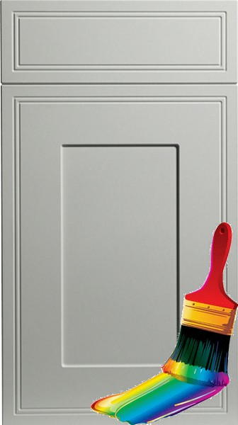 Tullymore Paintable Vinyl Kitchen Doors