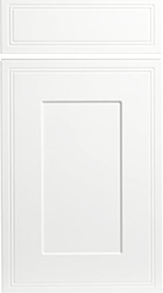 Tullymore Satin White Kitchen Doors