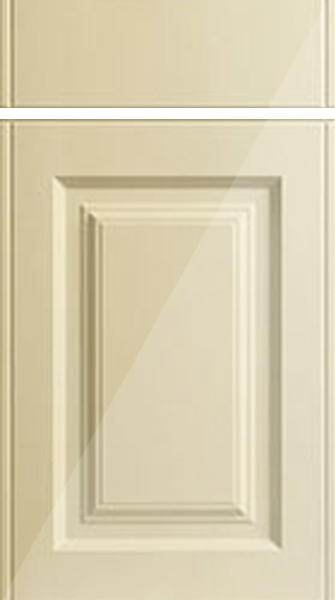 Tuscany High Gloss Cream Kitchen Doors