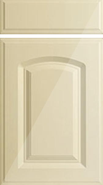 Verona High Gloss Cream Kitchen Doors