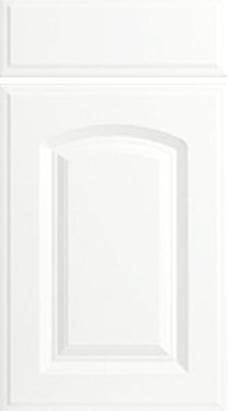 Verona Porcelain White Kitchen Doors