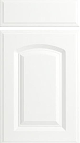 Verona Satin White Kitchen Doors