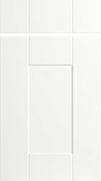 Warwick Porcelain White Kitchen Doors