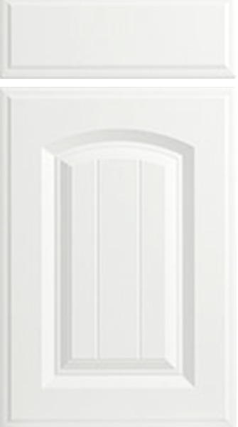Westbury Satin White Kitchen Doors