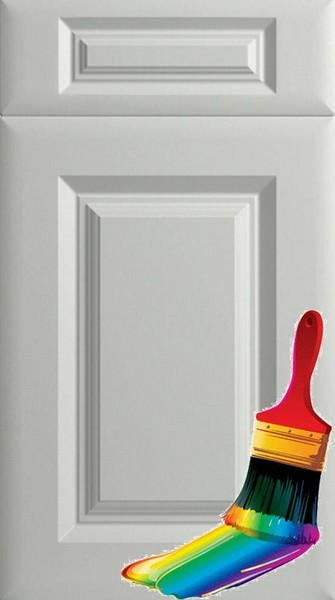 York Paintable Vinyl Kitchen Doors