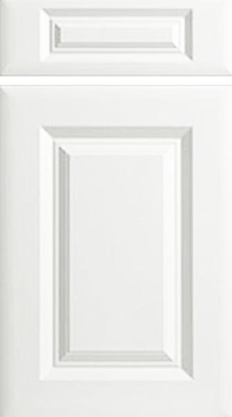 York Porcelain White Kitchen Doors