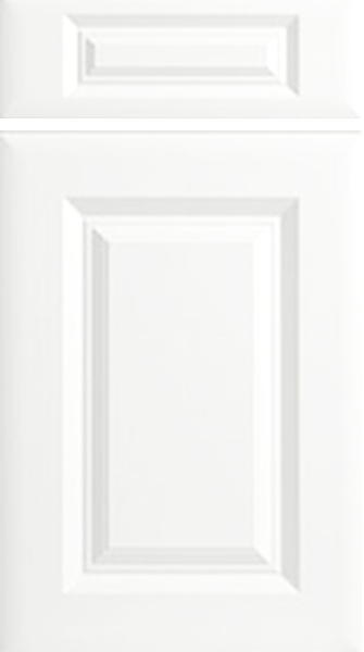 York Satin White Kitchen Doors