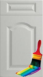 Canterbury Paintable Vinyl Kitchen Doors
