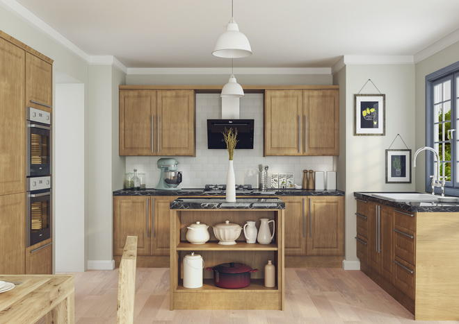 Ashford Lissa Oak Kitchen Doors
