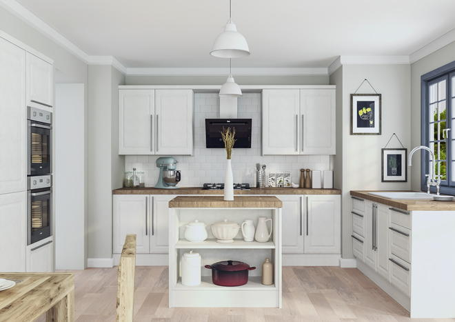 Ashford Matt Dove Grey Kitchen Doors