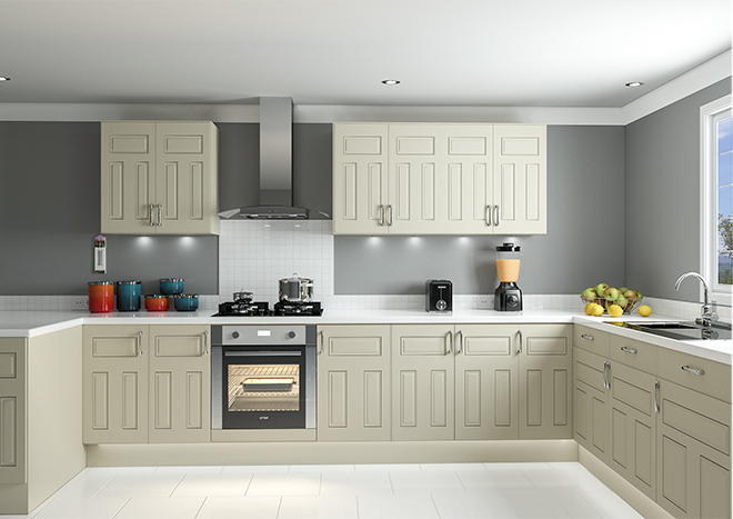 Broadway Ivory Kitchen Doors