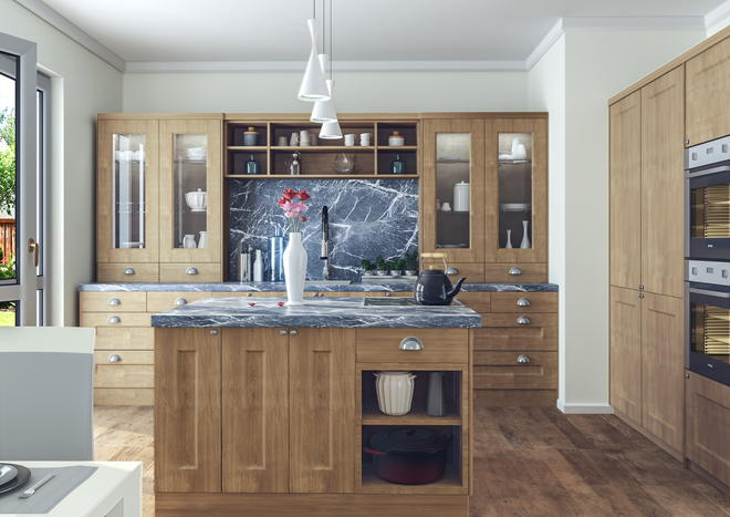 Cambridge Lissa Oak Kitchen Doors