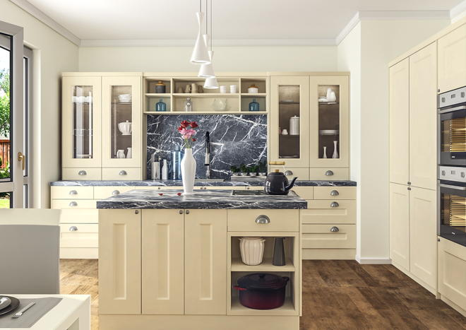 Cambridge Matt Cashmere Kitchen Doors
