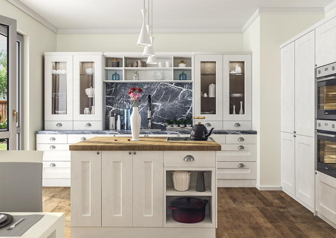 Cambridge Matt Dove Grey Kitchen Doors