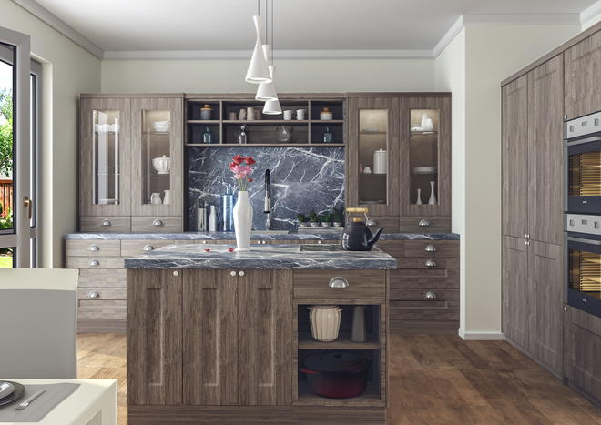 Cambridge San Remo Rustic Kitchen Doors