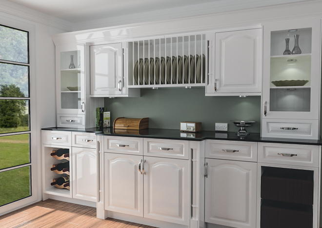High Gloss Kitchens High Gloss White Cabinets Large Size: From £2.99