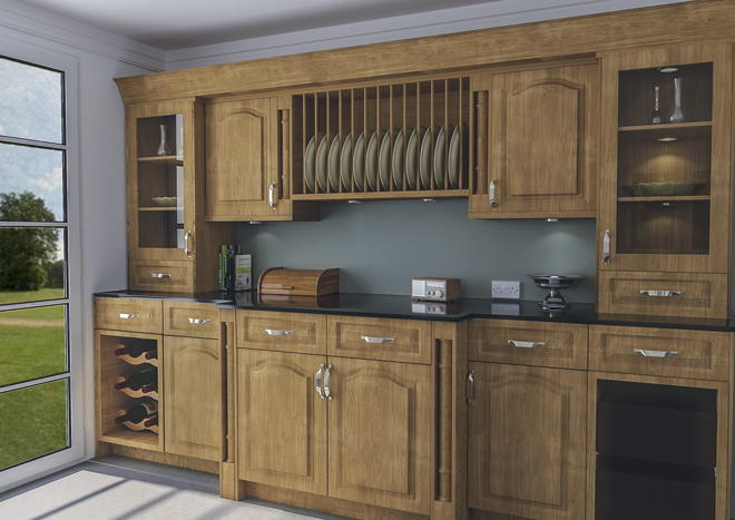Canterbury Lissa Oak Kitchen Doors