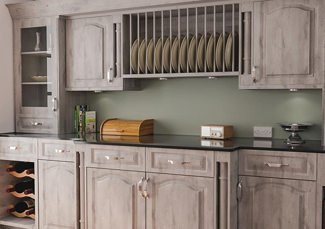 Canterbury London Concrete Kitchen Doors
