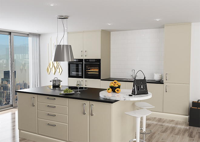 aeaa63d85 Euroline Ivory Kitchen Doors