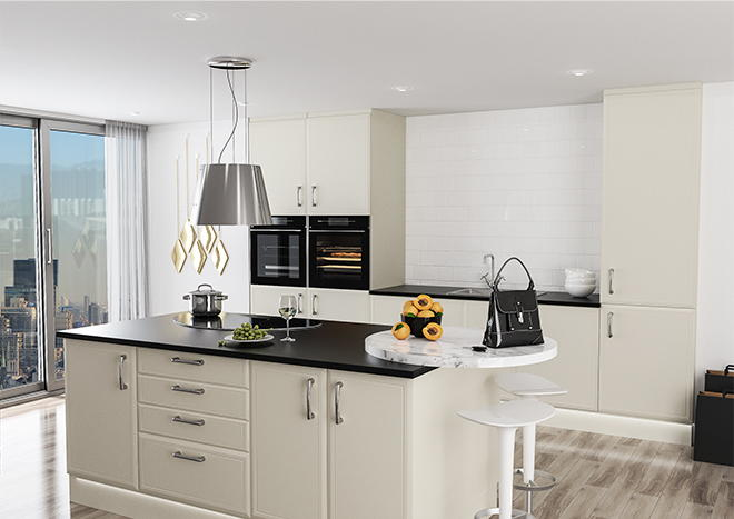 Euroline Vanilla Kitchen Doors
