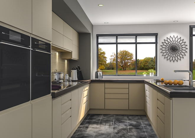 Knebworth Matt Dakkar Kitchen Doors