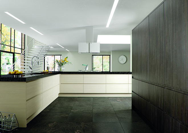 Knebworth Matt Dove Grey Kitchen Doors