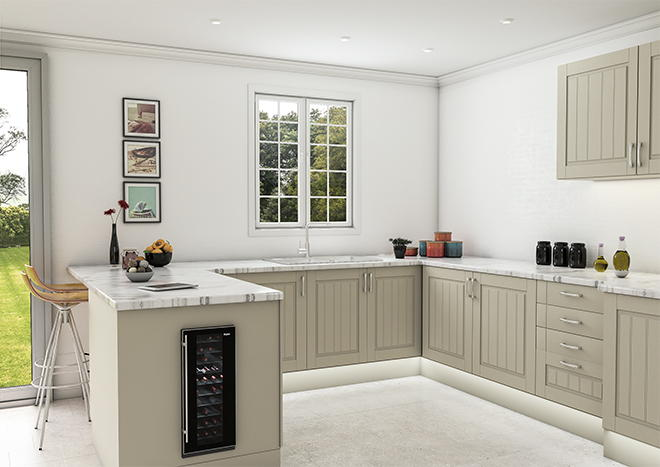 Newport Ivory Kitchen Doors