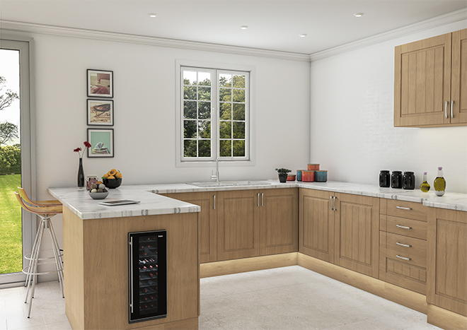 Newport Lissa Oak Kitchen Doors