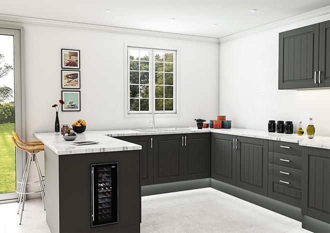 Newport Matt Graphite Kitchen Doors | Made to Measure from ...