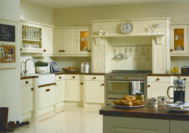 Newport Vanilla Replacement Kitchen Doors