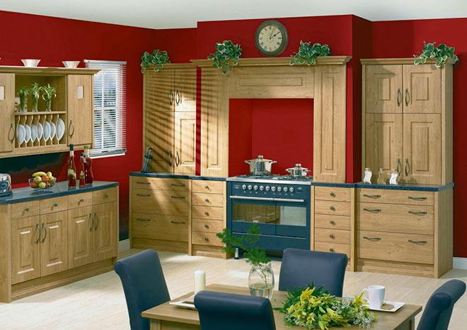 Kitchen Cabinet Doors - Oxford Pippy Oak