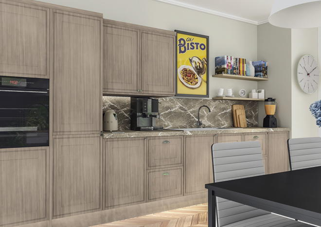 Tullymore Avola Cream Kitchen Doors